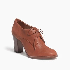 NWOT Madewell Bette High-Heel Oxford
